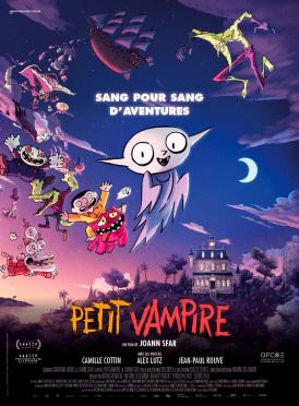 Affiche du film Petit Vampire au cinéma Paradiso de St MArtin en Haut