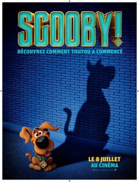 Affiche du film Scooby ! au cinéma Paradiso de St MArtin en Haut