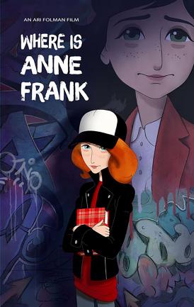 Affiche du film Où est Anne Frank ! au cinéma Paradiso de St MArtin en Haut