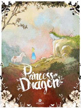 Affiche du film Princesse Dragon au cinéma Paradiso de St MArtin en Haut
