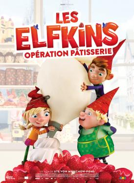 Affiche du film Les Elfkins : Opération pâtisserie au cinéma Paradiso de St MArtin en Haut
