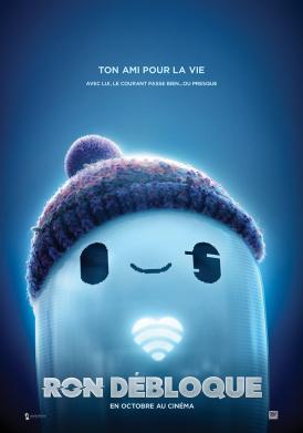 Affiche du film Ron Débloque au cinéma Paradiso de St MArtin en Haut