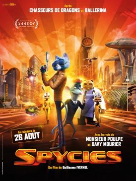 Affiche du film Spycies au cinéma Paradiso de St MArtin en Haut
