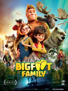 Affiche du film Bigfoot Family au cinéma Paradiso de St MArtin en Haut