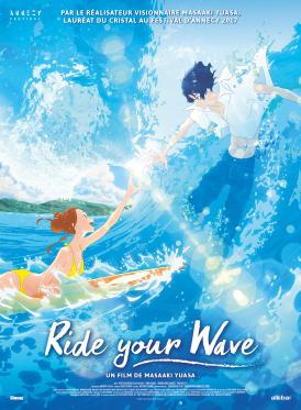 Affiche du film Ride Your Wave au cinéma Paradiso de St MArtin en Haut