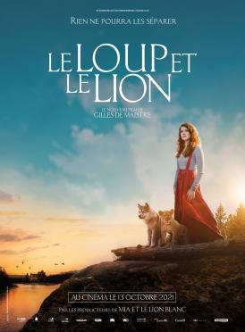 Affiche du film Le Loup et le lion au cinéma Paradiso de St MArtin en Haut