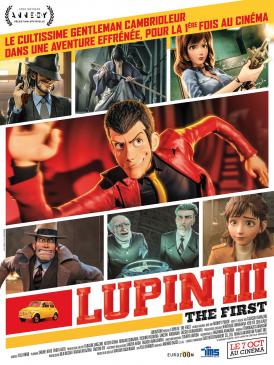 Affiche du film Lupin III: The First au cinéma Paradiso de St MArtin en Haut