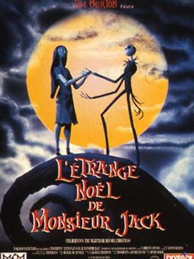 Affiche du film L'Etrange Noël de M. Jack au cinéma Paradiso de St MArtin en Haut