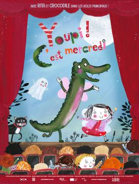 Affiche du film Youpi ! C'est mercredi au cinéma Paradiso de St MArtin en Haut