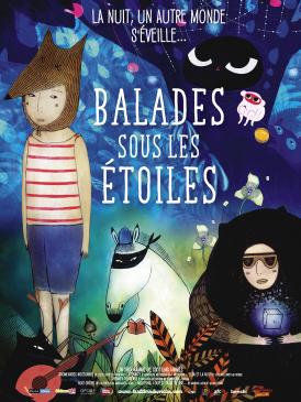 Affiche du film Balades sous les étoiles au cinéma Paradiso de St MArtin en Haut