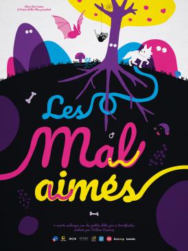 Affiche du film Les Mal-aimés au cinéma Paradiso de St MArtin en Haut