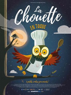 Affiche du film La Chouette en toque au cinéma Paradiso de St MArtin en Haut