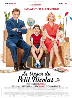 Affiche du film Le Trésor du Petit Nicolas au cinéma Paradiso de St MArtin en Haut