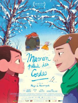 Affiche du film Maman pleut des cordes (court) au cinéma Paradiso de St MArtin en Haut