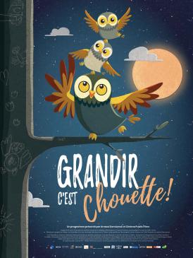 Affiche du film Grandir c'est chouette! au cinéma Paradiso de St MArtin en Haut
